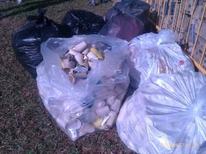 empty plastic bottles in the trash 2